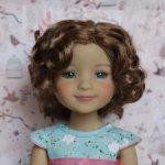 Новые парички для кукол от Monique. Размер 8-9. Модель 86,87.