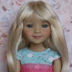 Новые парички для кукол от Monique. Размер 8-9. Модель 91,92.