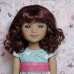 Новые парички для кукол от Monique. Размер 8-9. Модель 88,89,90.