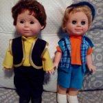 Российские куклы мальчики фабрик Весна Киров