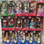 Маленькие куклы Келли Kelly и Томми Tommy Рождество и Олимпийские игры