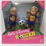 Набор маленькие куклы футболисты Soccer Келли Kelly и Томми Tommy (Barbie Барби Mattel Маттел)