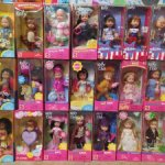Мини куклы Келли Kelly Шелли и Томми Tommy малыши Барби Barbie