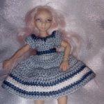 Авторская кукла Валентины Игнатьевой, бжд, с роскошным гардеробом