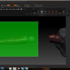 Подготовка к печати на 3d принтере шарнирной куклы BraNaDolls. Проектирование поддержек