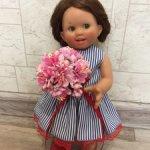 Цветы для кукол ростом 26-35 см