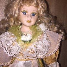 Нужна помощь с фарфоровой куклой