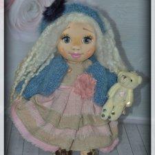 Как и обещала, десять моих текстильных лялечек готовы! Одеваемся потихоньку