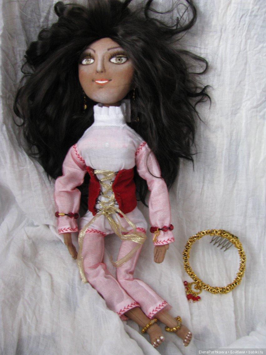 Текстильная шарнирная Восточная принцесса Амира