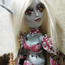 Сильвана Ветрокрылая,  шарнирная интерьерная кукла. Вождь Орды, Темная госпожа