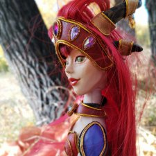 Алекстраза, Хранительница Жизни. Новая шарнирная кукла