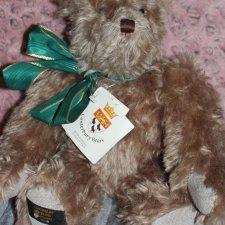 Коллекционный мохеровый медведь LE Canterbury bears 1995 England