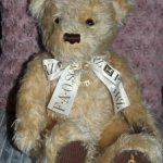Коллекционный большой мишка FAO Schwarz Commemorative 2000 Teddy Bear