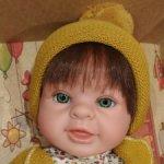 Замечательная малышка с изумрудными глазками!)