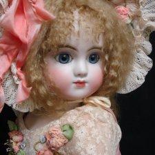 Реплика антикварной куклы Steiner от Mary Lambeth в новом образе (в продолжение предыдущего топика)