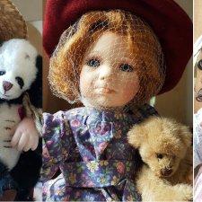 Мини-КОЛЛЕКЦИЯ фарфоровых кукол от Linda Steele