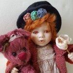 Рыжеволосая озорница Люси (Lucy) от Линды Стил (Linda Steele) Cottage Collectibles от Ganz