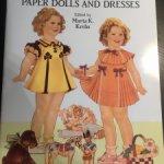 Бумажная кукла Ширли Темпл
