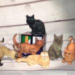 Набор котов и кошек.