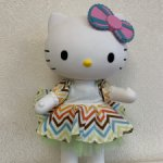 Большая виниловая Кити. Hello Kitty