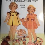 Бумажная куколка Ширли Темпл.