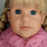 Продам куклу Машу на мягком теле от Готц Gotz