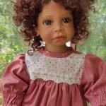Продам куклу с подставкой от Анджелы Саттер Angela Sutter 2007 без ботинок и стенда 10000