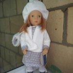 Продам куклу Минуш Minouche Ольгу с узким лицом и чемоданчиком от Петитколлин, Petitcollin