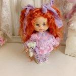 Текстильная кукла . Алиса