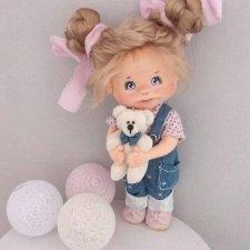 Текстильная кукла . Олеся