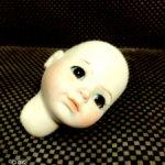 Фарфоровая голова