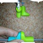 Обувные колодки на кучу кукол