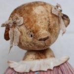 Большая автор. мишка от Марины Струк, рост 65 см. Новое состояние!