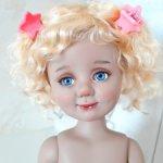 Таня, автор. шарн. кукла БЖД Оксаны Мироновой. Новая!