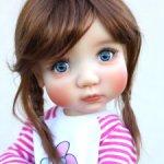 Парик Monique Gold Tessie REDDISH BROWN ,10-11. Для Мае, Aya, Ardyn Meadow dolls. Новый! Цена ниже!