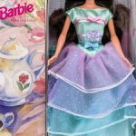 Платье от Barbie Avon Spring Tea Party