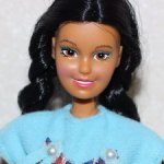 Totsy Legends of Yesteryear Doll - Indian Princess Pocahontas