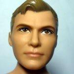 Шарнирный кен Капитан Кирк. Ken. Barbie. Mattel.