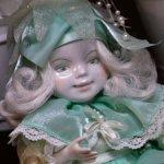 Фарфоровая кукла Лесной эльф, 2001 г
