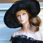 Интерьерная кукла итальянского автора Maria Rossi (Marigio)