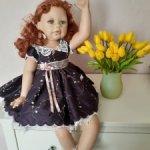 Редчайшая, великолепная кукла Габриэлла.