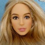 Голова Дианы блондинки с Тао