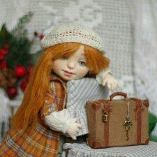 Текстильные куколки от Anastasia Mekuchi