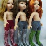 Колготки для кукол формата Паола Рейна