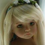 Коллекционная красотка -Little Darling( ООак) от Магали Доусен.