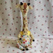 Жирафик ручной работы