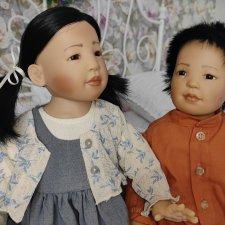 Парочка редких кукол от Elissa Glassgold