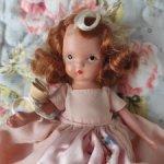 Антикварная фарфоровая кукла Nancy Ann Storybook
