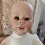 Авторская кукла по молду Margit Dassen