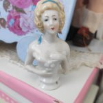 фарфоровая кукла-половинка Half doll